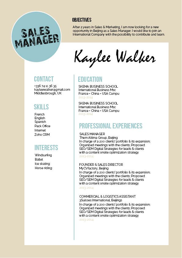 This simple resume comes with a functional format that is sure to get you hired!