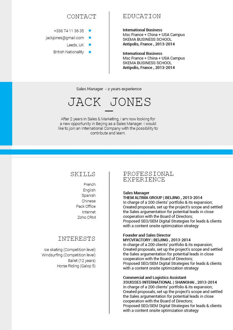 Look no further because this modern resume template is best choice!