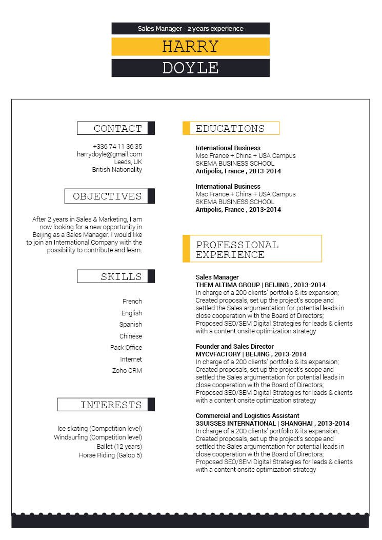 Get that dream job, Choose this modern resume template!