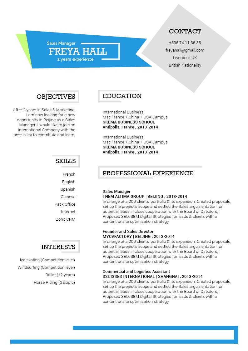 This simple CV template will help you create that ticket to land your dream job -- a great resume!