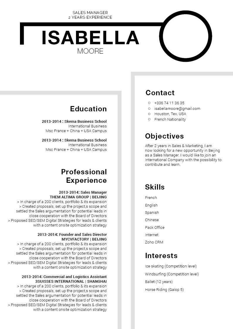 Grab the attention of your recruiter with the best resume format the internet has to offer.