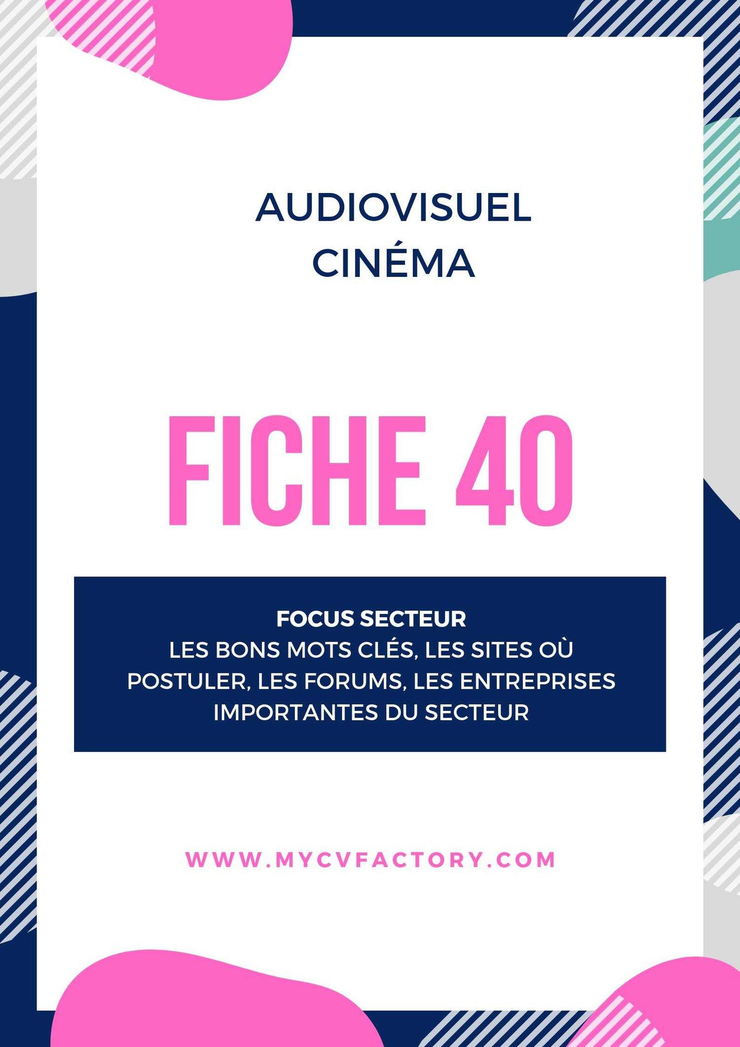 CV audiovisuel