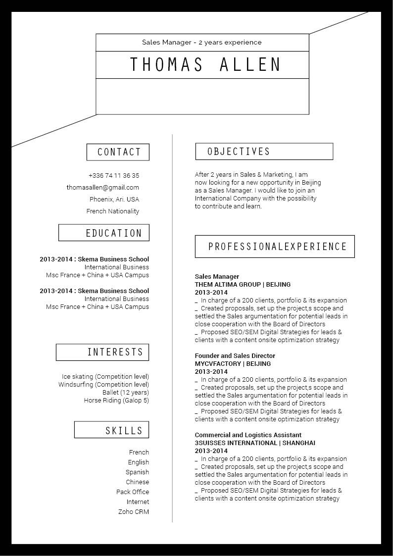 A functional resume template that is guaranteed to wow the recruiter