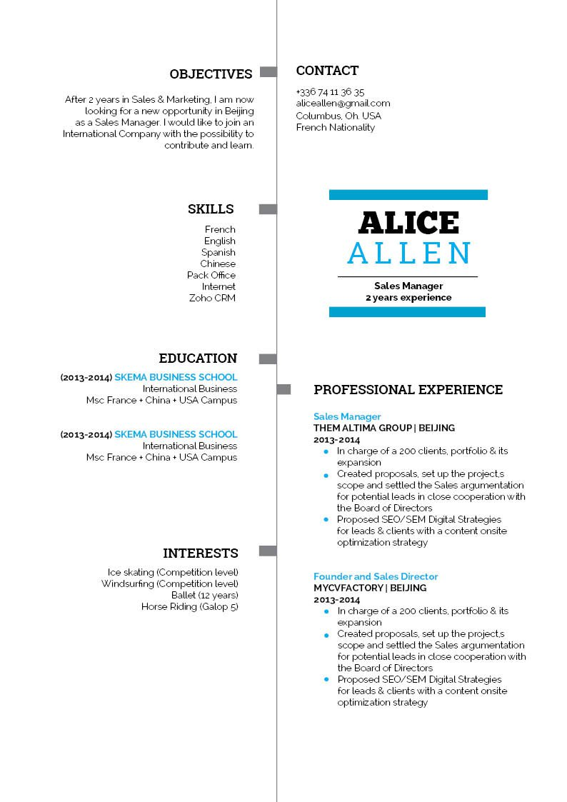 Get that dream job with this student resume template!