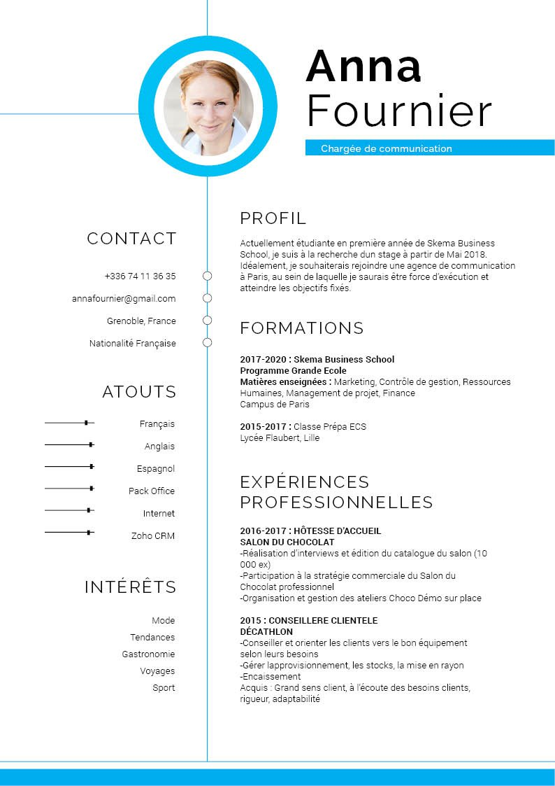 conception cv design