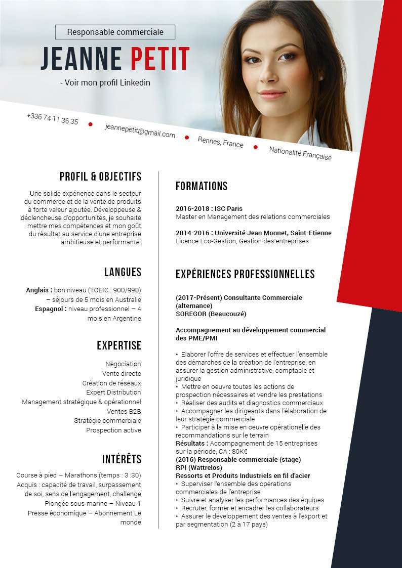 design et conception de cv