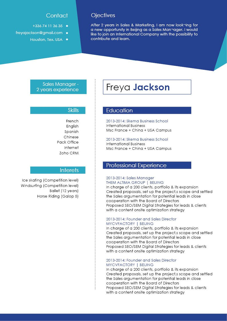 Look no further because thisprofessional resume template is best choice!