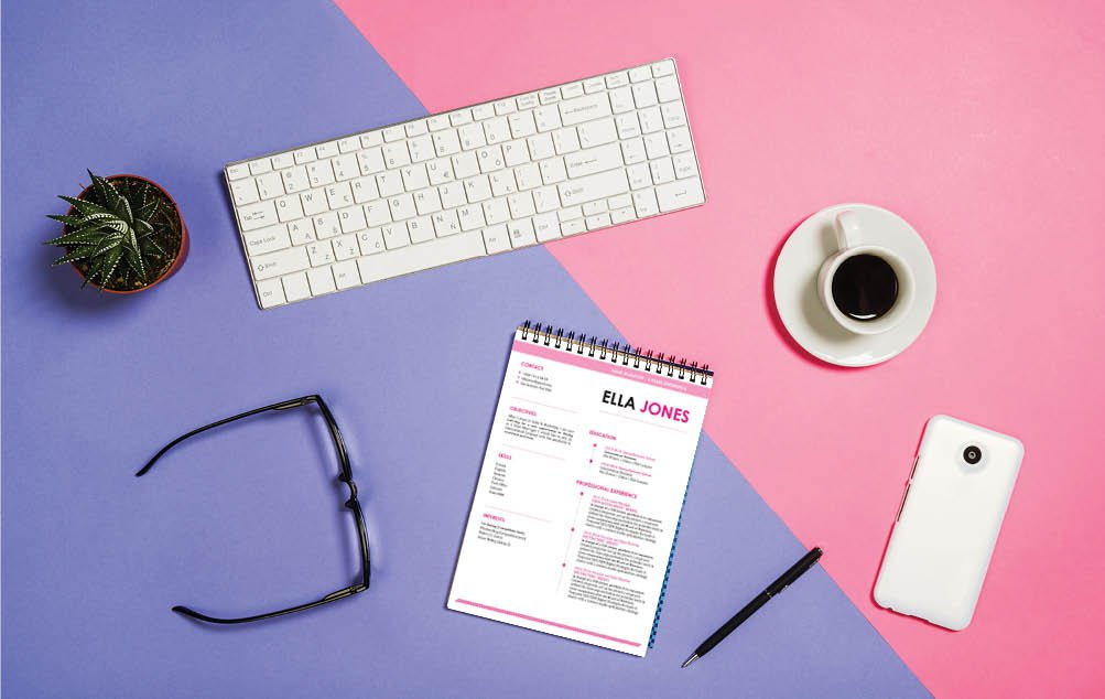 All the sections are excellently crafted in this easy resume template