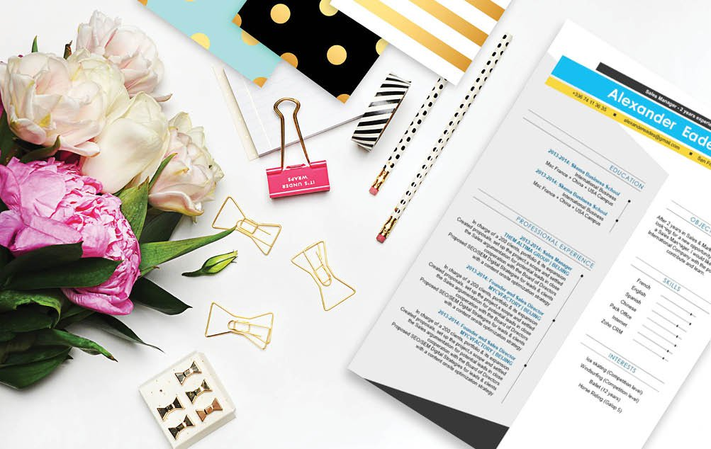 The modern resume template that will land you that dream job!