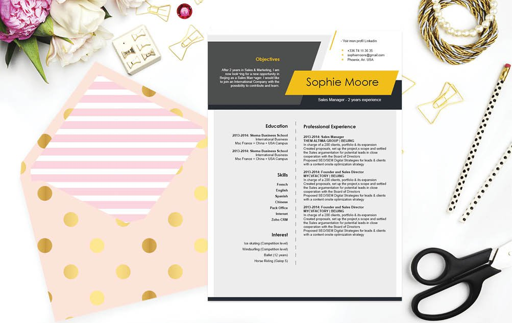 A design that simple puts a smile on your face -- definetely a functional resume template to work with!