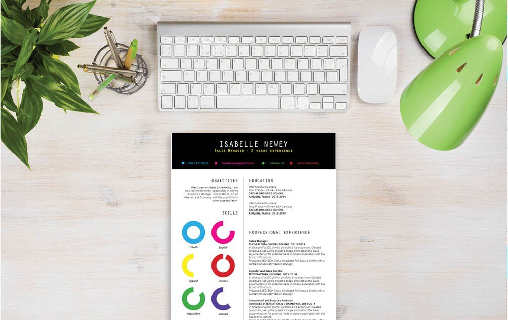 This functional cv format will have you creative the perfect profile CV