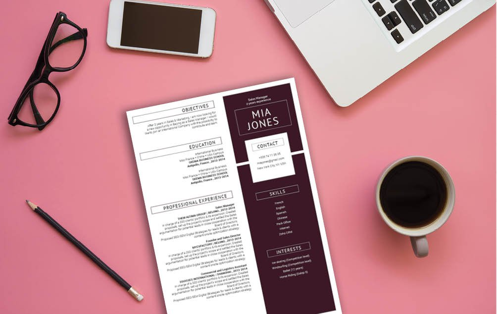 Everybit of information in this template is written to accomodate any job type. A great CV template to help you land that dream job
