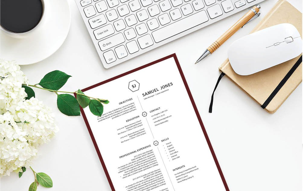 Look for a professional CV? Then this modern resume template is a sure winner