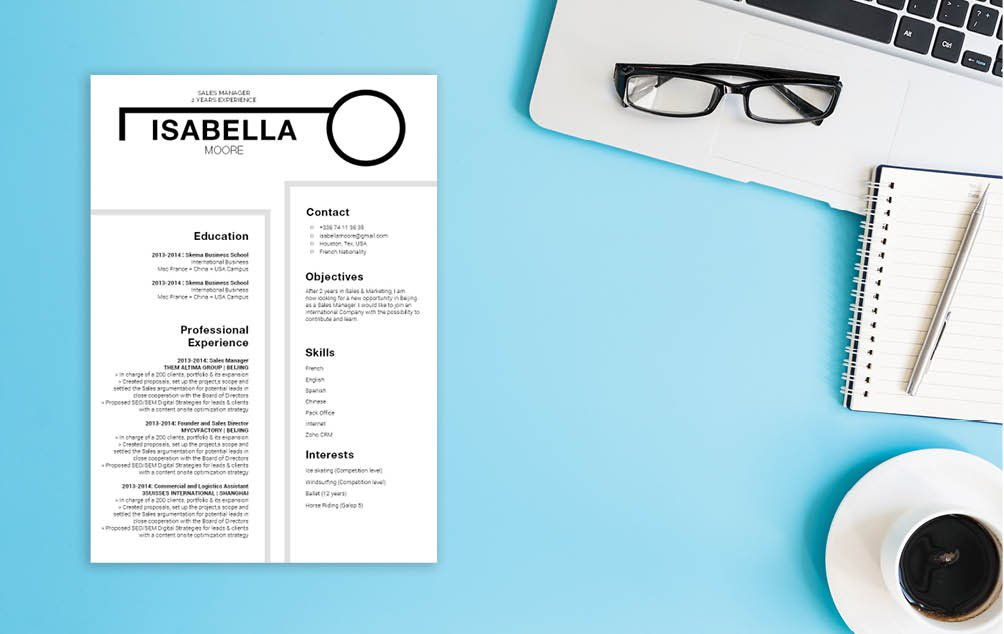 Look like a true professional with this CV as it has the best resume format out there.