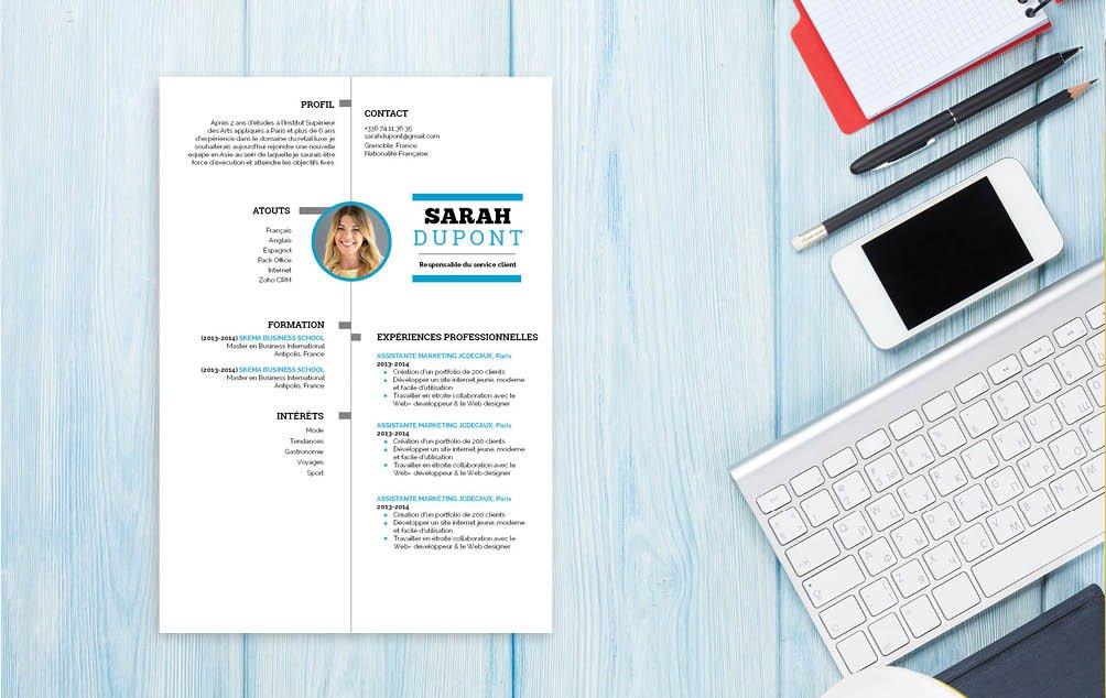 Le CV idéal pour postuler à un poste de conseiller client ou standardiste