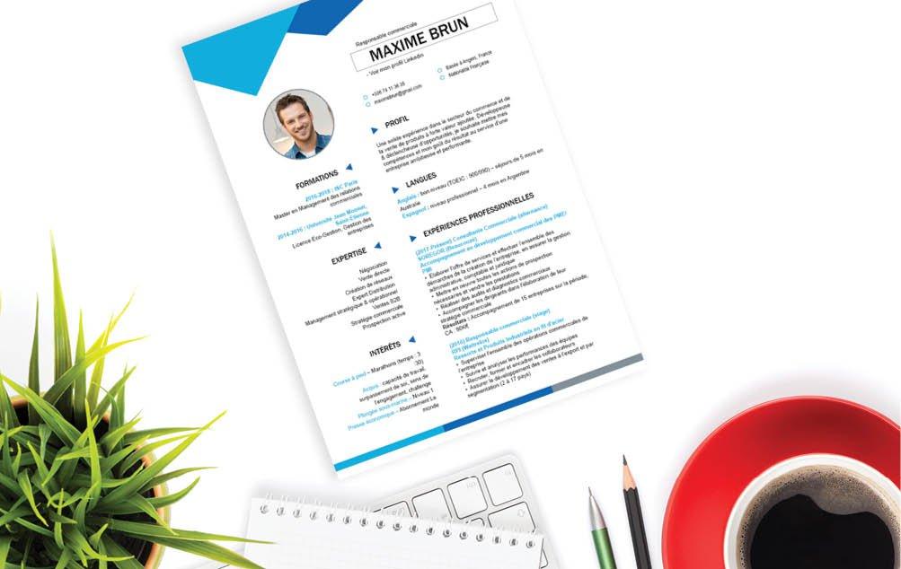L'utilisation de nombreux éléments qu'il faut prendre en compte augmente la complexité de ce CV.