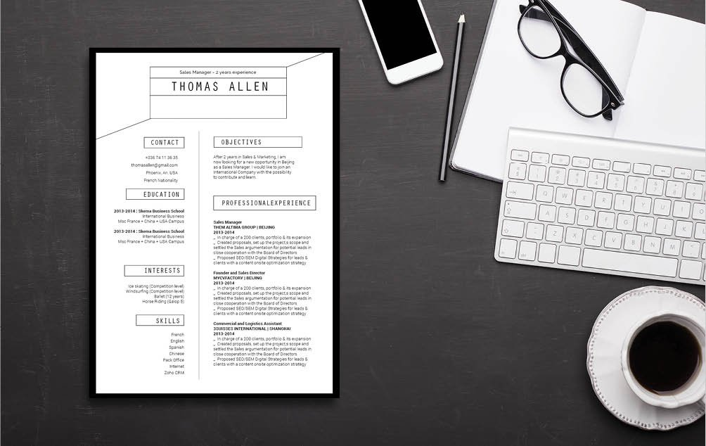 A professional needs an equally impressive skillset and a good functional resume template to stand out