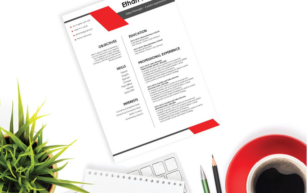 This Functional Resume template has all the workings of a creative resume