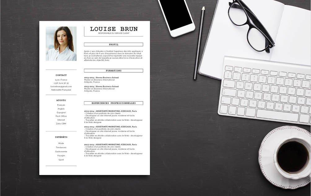 Si vous cherchez un travail dans l'administration publique, préférez ce CV simple et efficace