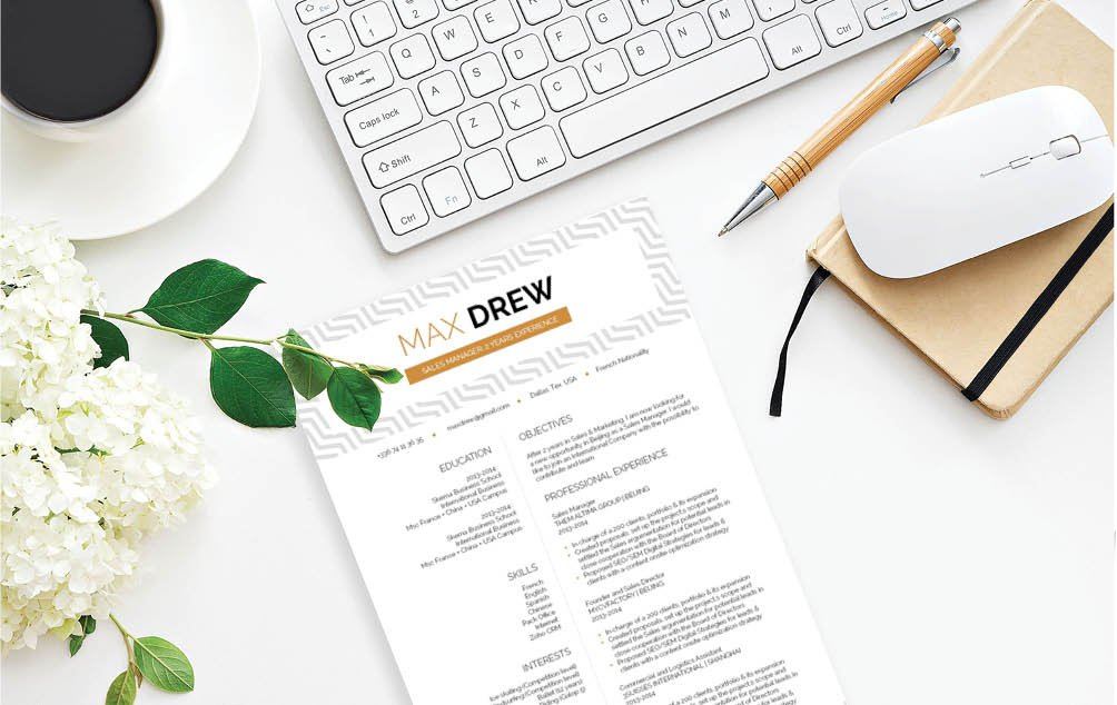 Get that dream job thanks to this functional resume template