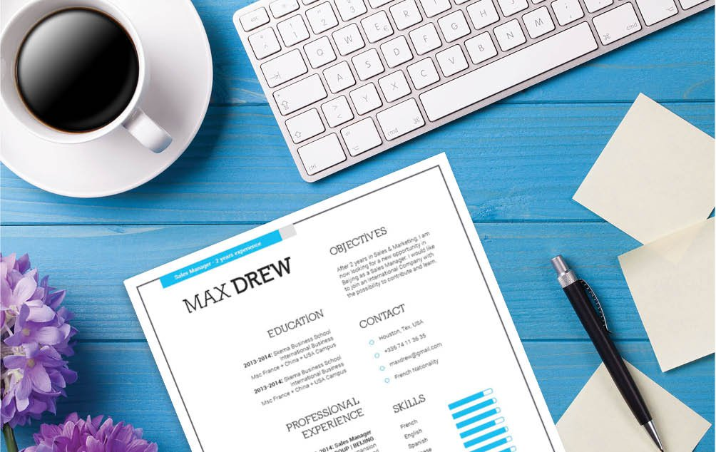 The colors and format will make this Professional Resume template stand out from the rest