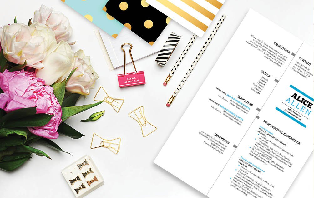 A professional needs a functional CV, so a student resume template is essential!
