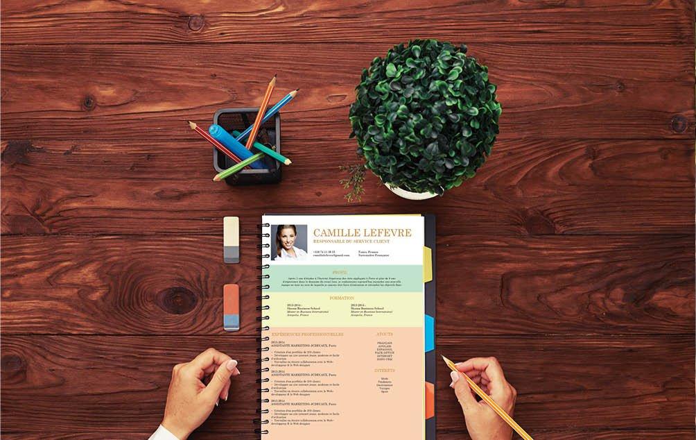 Le bon à CV à utiliser si vous postuler pour un poste de créatif : architecte ou designer.