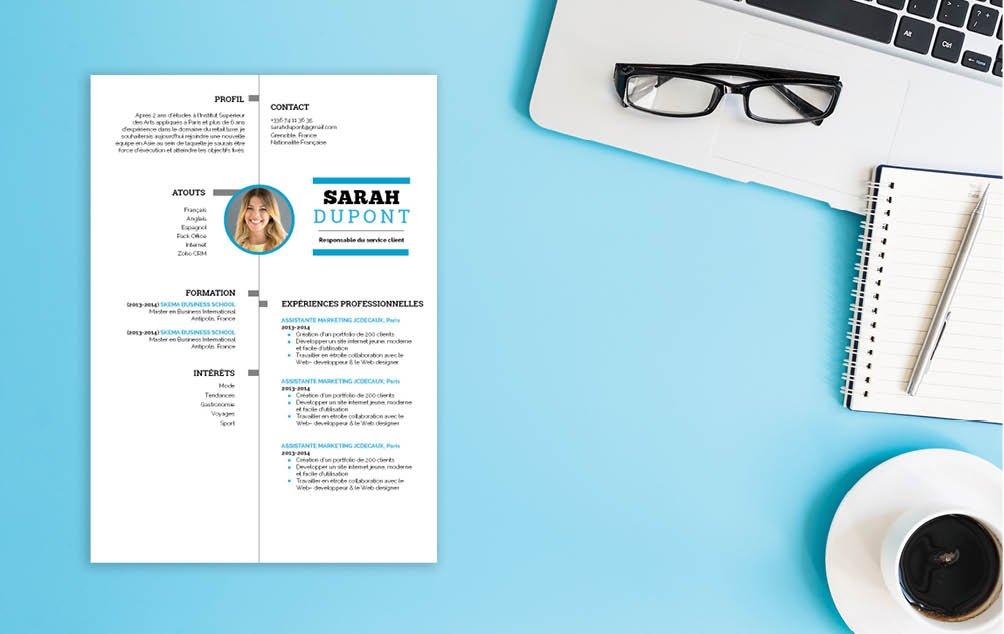Un CV-type qui cherche à obtenir les meilleurs résultats avec un concept équilibré. Rien d'ostentatoire tout en proposant un produit coloré.