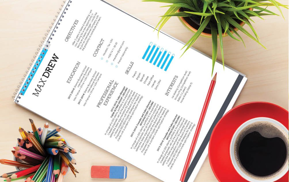 Impress your future boss with a professional resume template with a pure winning format!