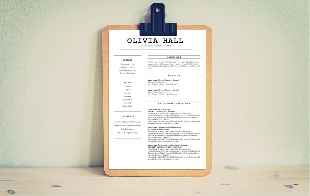 The best functional resume template  for any job seeker!