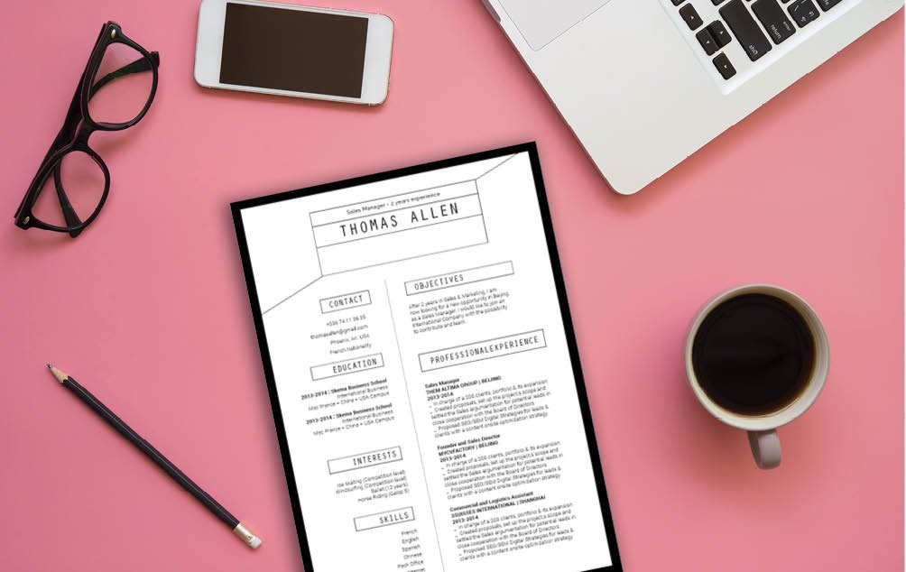 This custom functional resume template has everything you need in a good resume