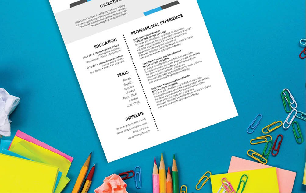 No need to worry, this modern resume template is all you need to grab that dream job!