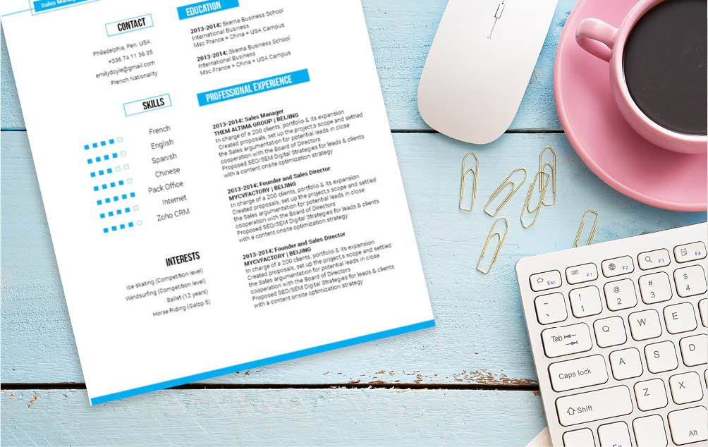 A Modern Resume template with an excellently crafted design made for the modern working