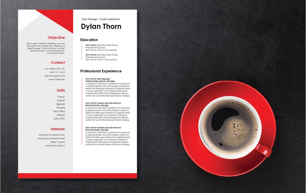 The perfectly crafted format in this simple resume template will help you create a great resume!