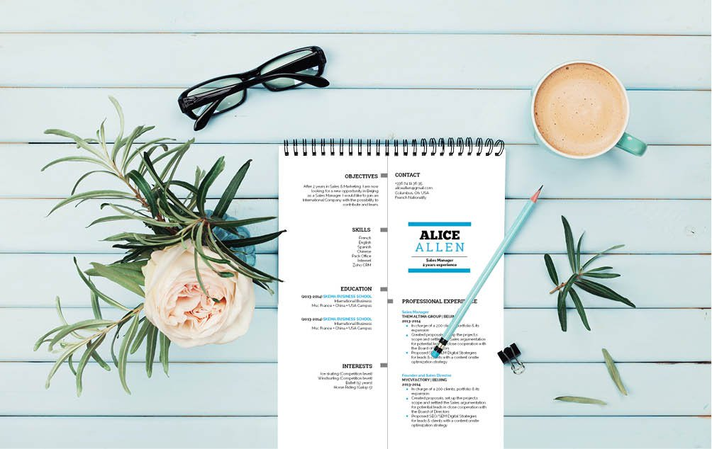We have a brilliantly designed this  student resume template that sure to land you that dream job!