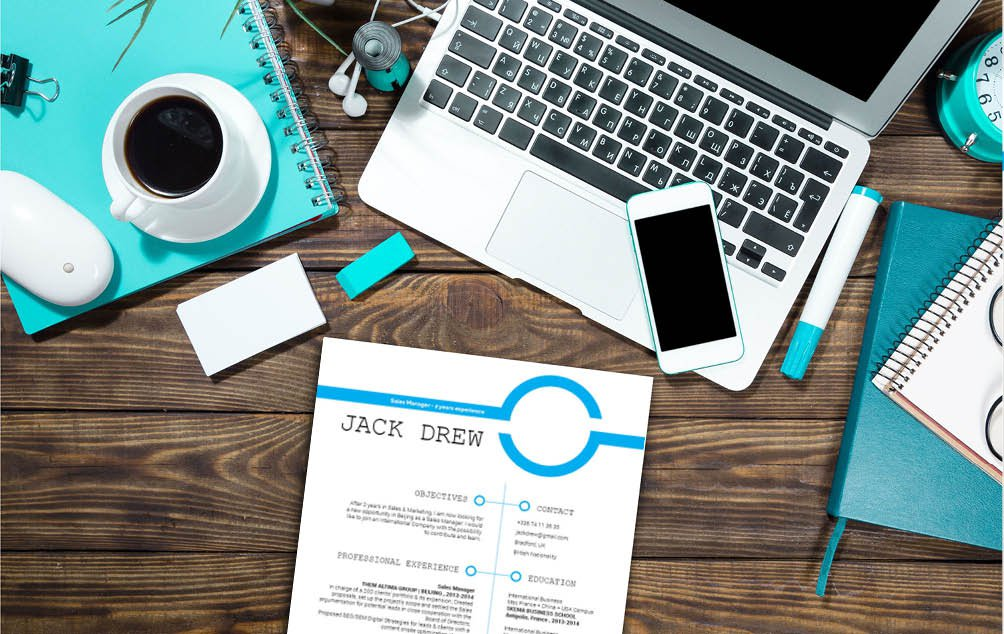 One of the great simple CV Template builders we have -- the designs and shapes speak for itself