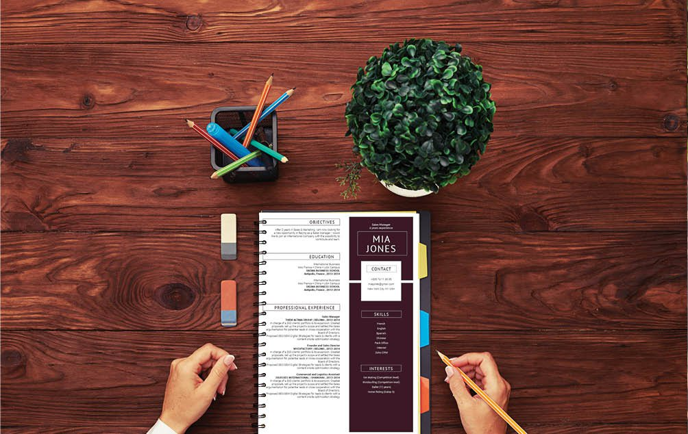A great CV template is all you need to land that dream job. With a creative design, this resume template shines