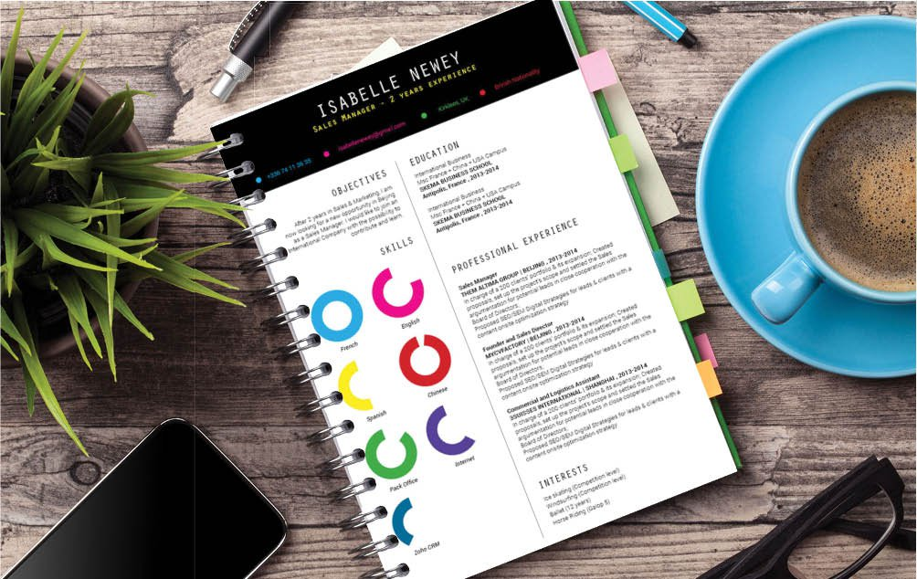 Create a creative and effective resume with this cv format template