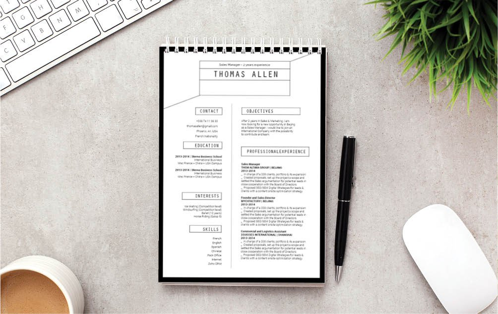 No need to worry about writing a good resume, this functional resume template is near perfect!