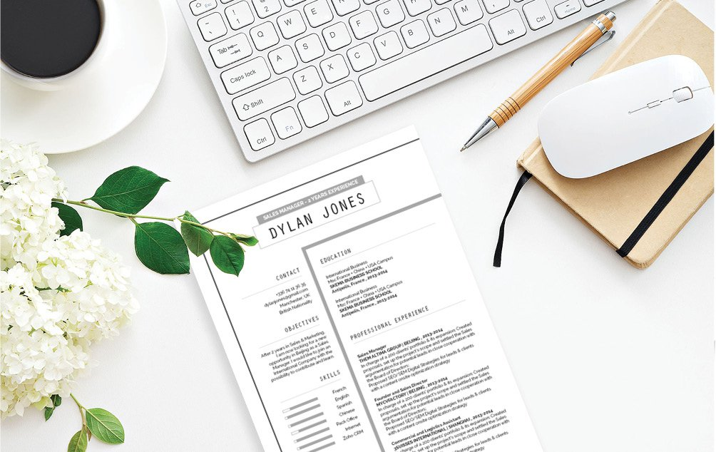 Clean, effective, and creative -- the best best Professional CV Template out there!