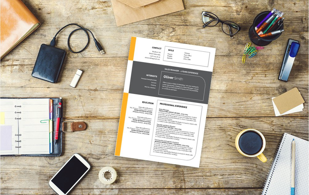 This professional resume template will have you creating the perfectly professional profile