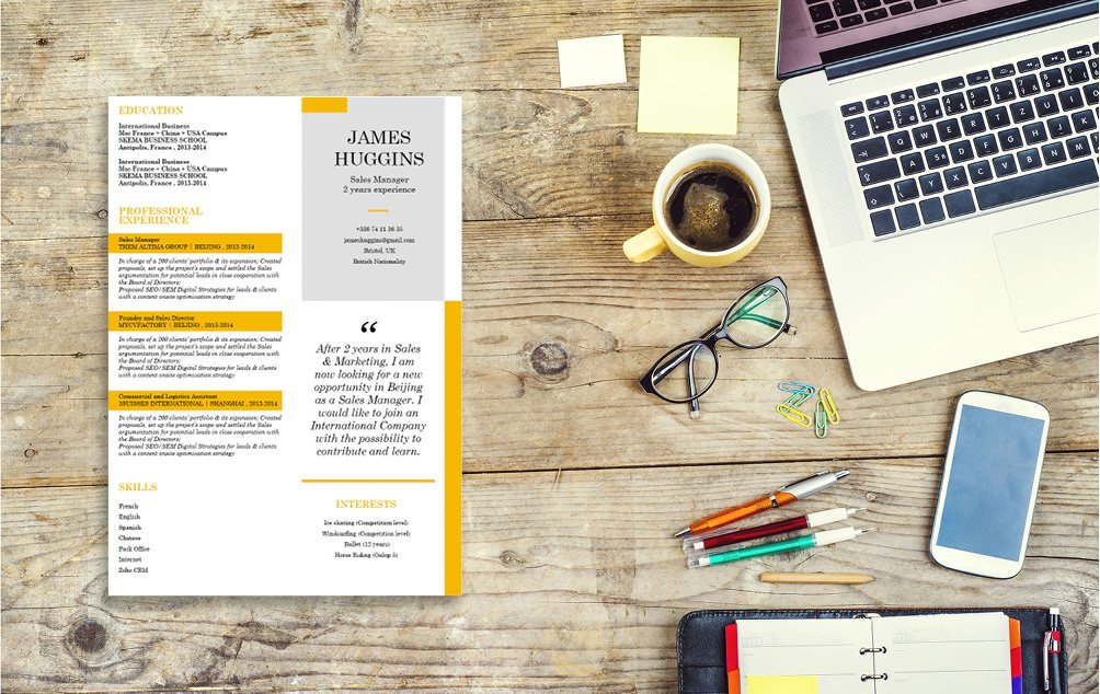 Your potential employer will be amazed of how well-written this resume template is!
