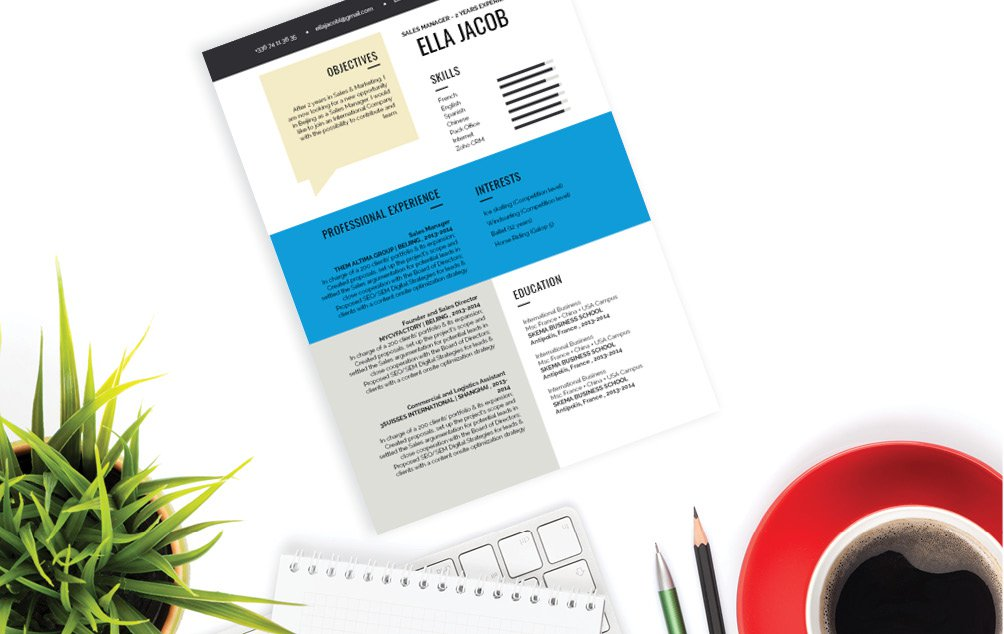 Looking to create an ideal CV? Then this functional CV template is a sure choice!