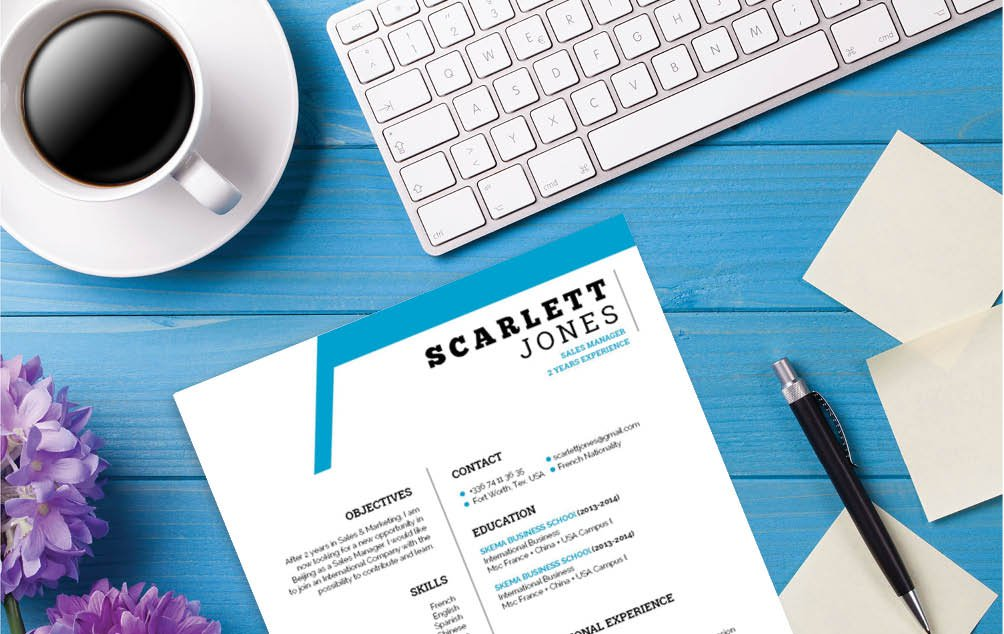 This student resume template has a creative and efficient design made for professional!