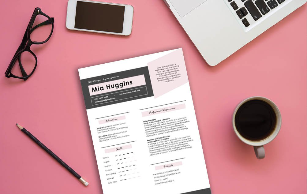 Your potential employer will be amazed of how well-written this cv format is