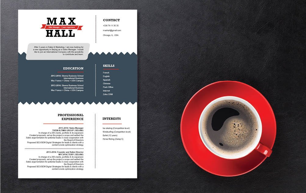 Clean and creative, all you need is this Professional  CV