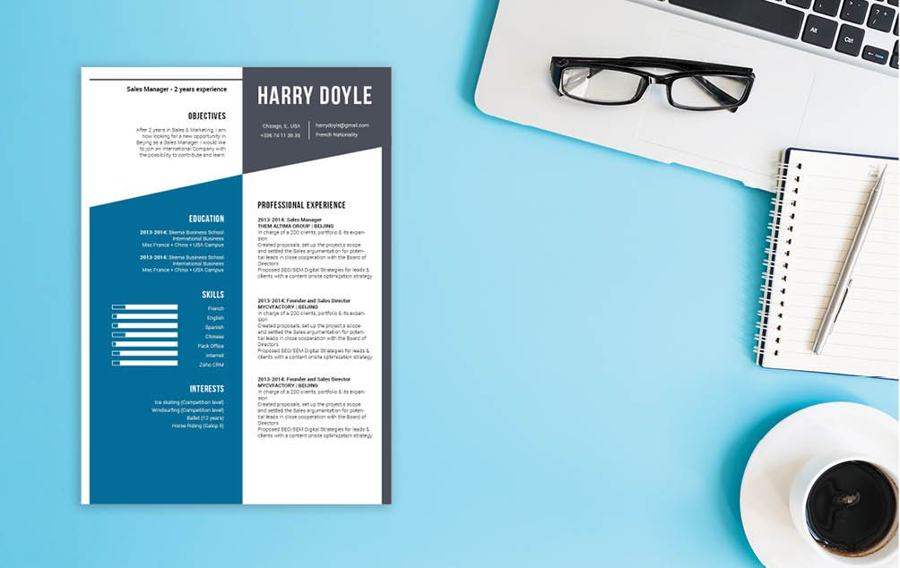A simple resume for a great career ahead