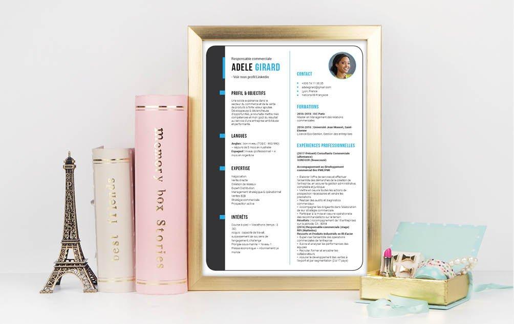 Obtenez votre entretien à coup sûr grâce à ce CV aux nombreux atouts