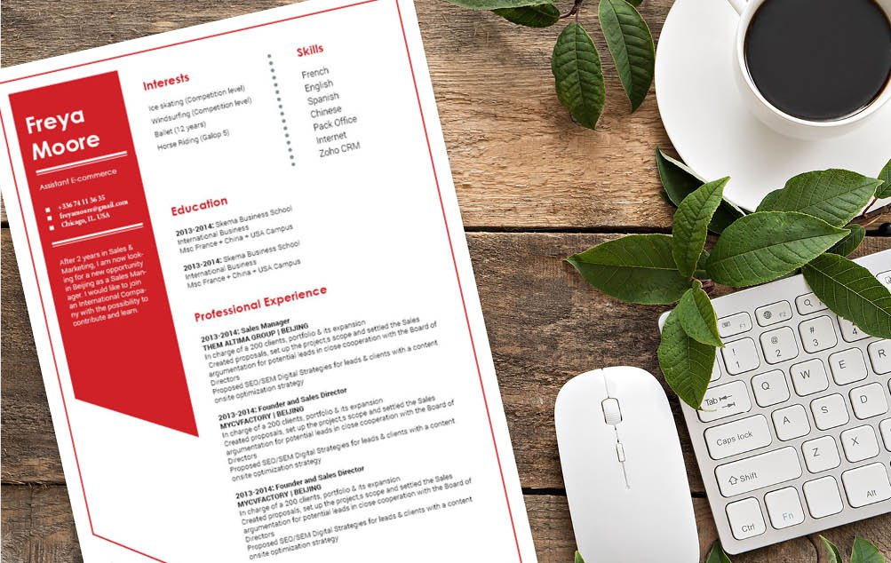 Created for the modern work age, this CV template will help you land that dream job