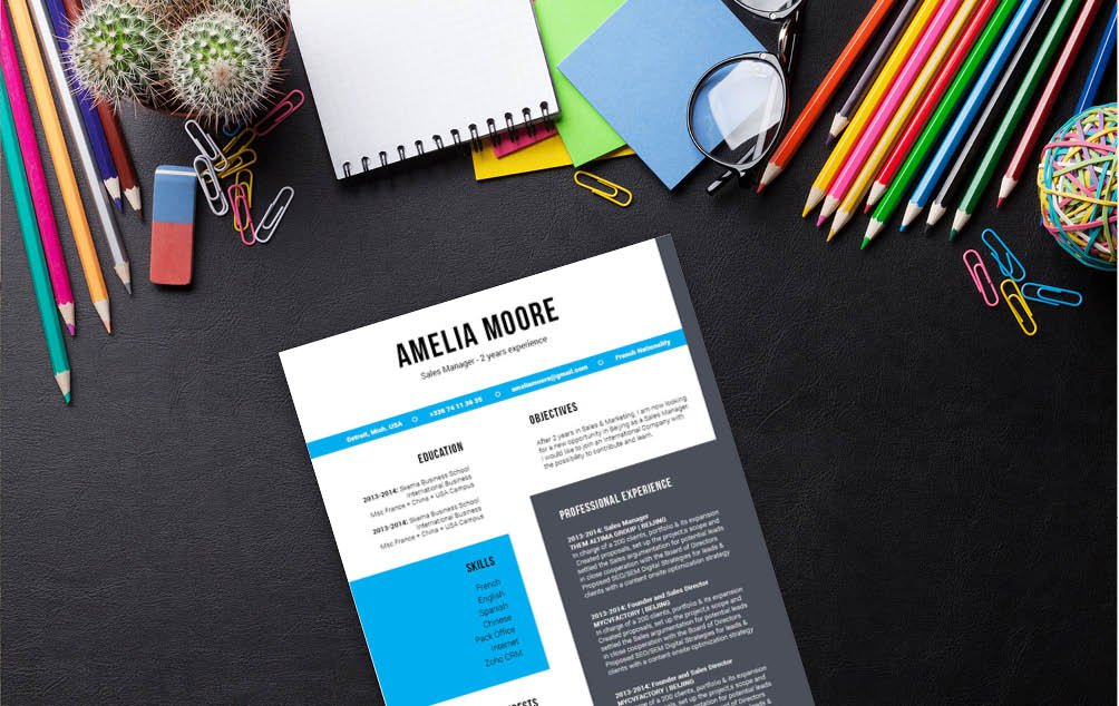 The designs and styles found in this best downloadable resume template make it a perfect fit forall job seekers
